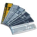 Cherry G83-6104-G83-6105 Colored Standard PC Keyboard